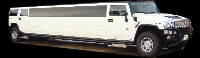 Limos for Hire - White Hummer Limo for hire London & ESSEX
