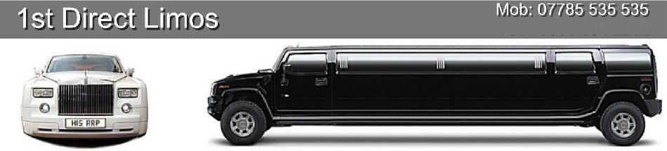 Limo Hire London - Stretch Hummer Limos & Rolls Royce Phantom Limos Header.